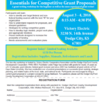 2-Day Grant Writing Workshop